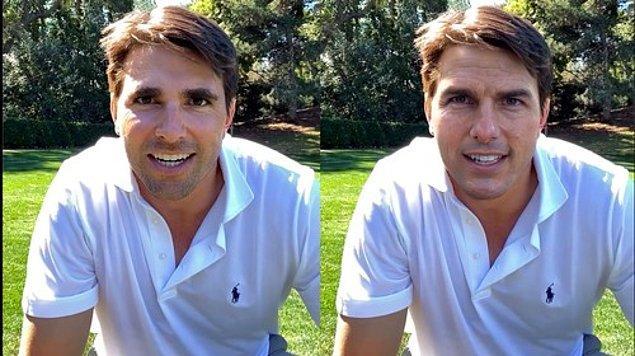 Geçen hafta Tom Cruise'un golf oynadığı ve sihir numaraları yaptığı TikTok videoları yayınlandı. Ancak, videolarda asıl anlatılmak istenen durum oldukça farklıydı.