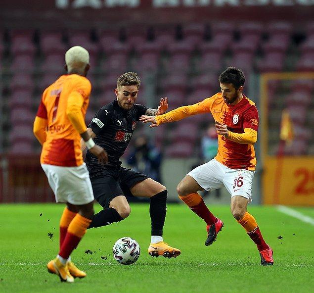 Süper Lig'in 29. haftasında Galatasaray evinde Demir Grup Sivasspor'u ağırladı.