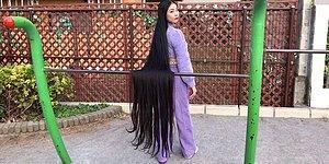 «Японская Рапунцель», которая не стригла волосы 15 лет, говорит, что ее волосы длиной 190 см являются «орудием» самовыражения
