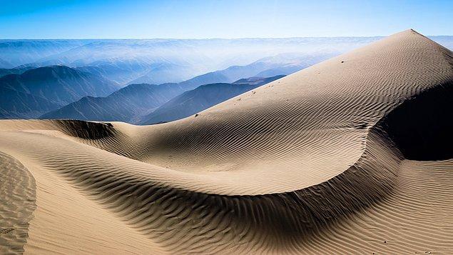 6. Peru, dünyanın en yüksek kumuluna sahiptir.