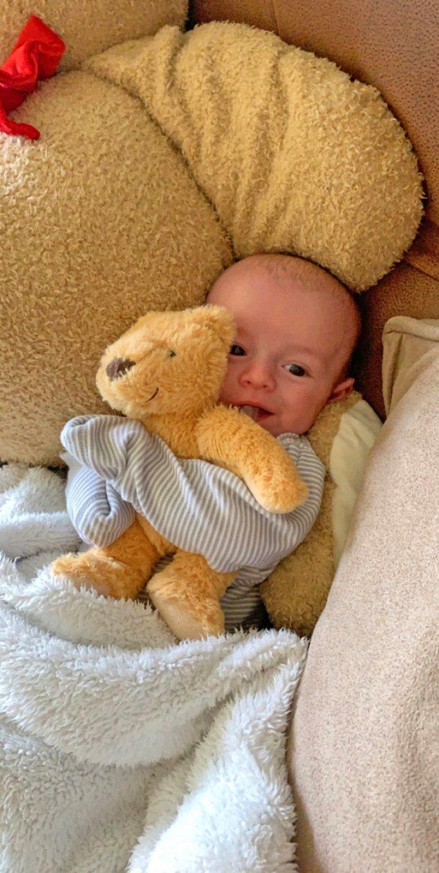 Ve sonuç olarak, dünyaya bu tatlı mı tatlı bebek geldi.