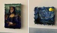 Современное искусство: Турецкий цифровой художник показал, как бы выглядели известные картины, будь они сделаны из меха