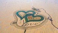 Сокровище Дубая: Переплетающиеся озера в форме сердца в пустыне, где тысячи деревьев означают слово «любовь»