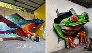 20 реалистичных граффити от мексиканского уличного художника убедят вас в том, что этот вид искусства недооценен