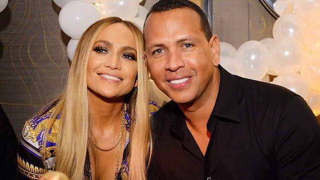 Ünlü şarkıcı Jennifer Lopez, 4 yıldır ünlü eski beyzbol yıldızı Alex Rodriguez ile birlikte.