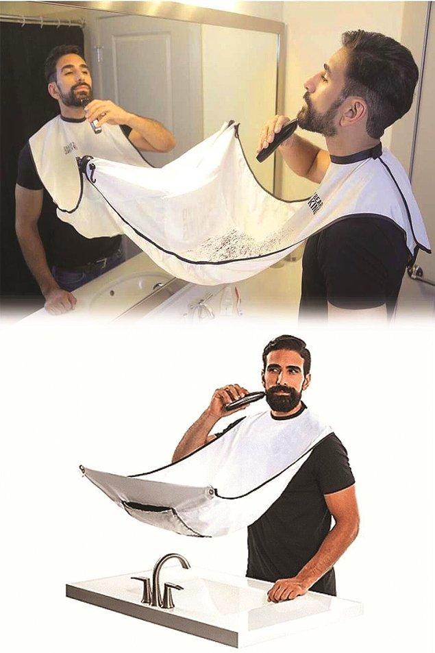 8. Saç sakal kesme önlüğü