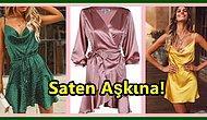 Hangisini Alsam Diye Seçmekte Zorlanacağınız Birbirinden Güzel Saten Elbiseler