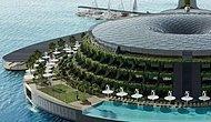 В Катаре планируют построить эко-отель на воде, который будет генерировать энергию с помощью солнечной, ветровой и приливной энергии и вращается в 24-часовых циклах