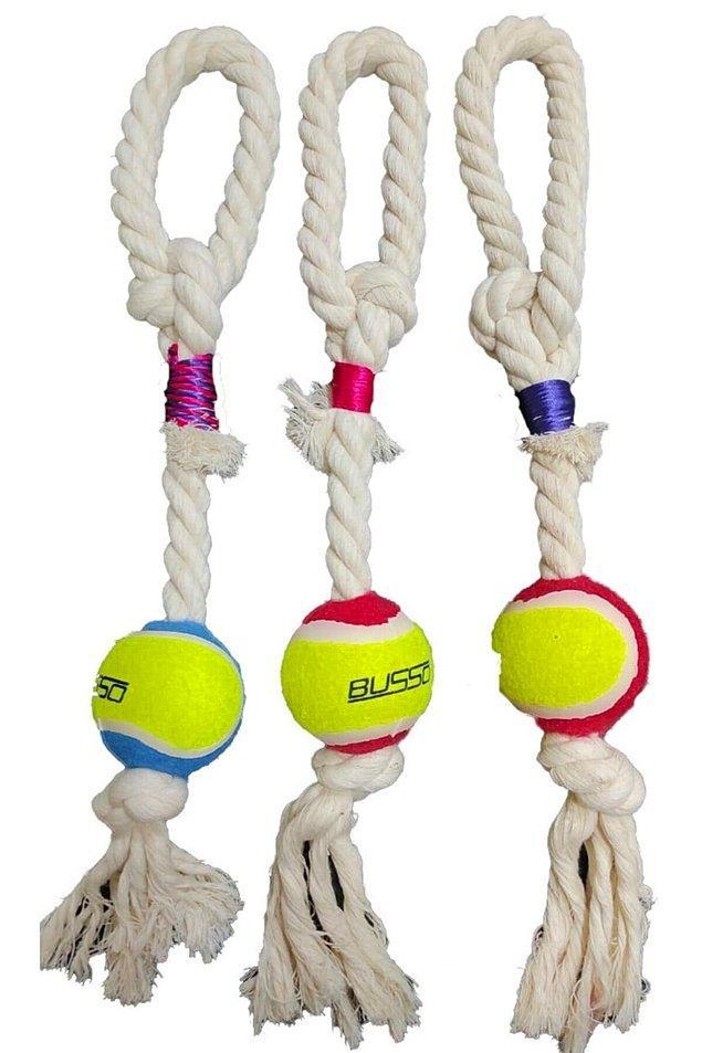 12. Köpeğiniz çekiştirmeli oyunlardan hoşlanıyorsa bu halatlardan alabilirsiniz.
