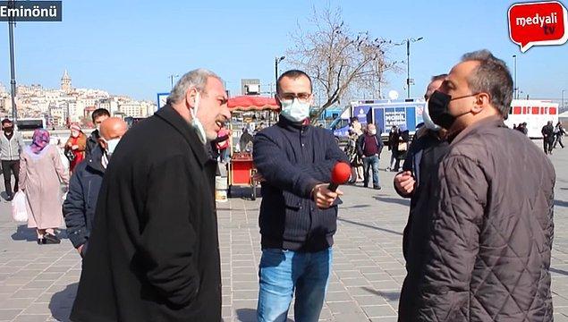 medyali tv isimli YouTube kanalı mikrofonu sokaktaki vatandaşa uzattı.
