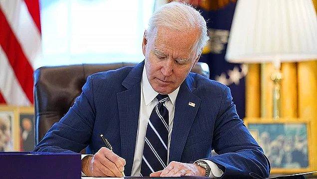 """Geçtiğimiz günlerde ise Joe Biden """"Dört kişilik her bir aile 5.600 dolar yardım alacak."""" diyince sosyal medyada ortalık karıştı."""