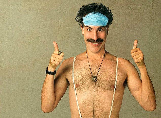 9. Kazakistan, Sacha Baron Cohen'in kurgusal karakteri Borat'ın, Kazakistan yetkililerinin hiç sevmediği filmin doğduğu yerdir.