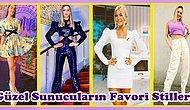 Televizyon Programlarında Sunucuların Şimdiye Kadar Giydiği En Güzel Kıyafetler