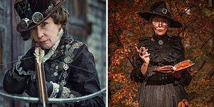 58-летняя бабушка шьет костюмы для своих потрясающих косплев (20 фото)
