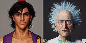 Как бы выглядели 20 персонажей известных мультфильмов, будь они людьми