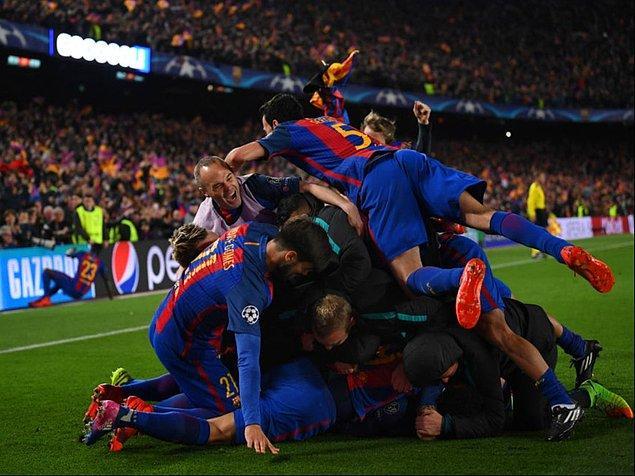 8 Mart 2017 / Barcelona - PSG: 6-1