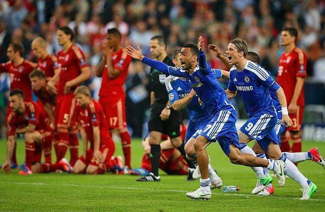 19 Mayıs 2012 / Chelsea - Bayern Munich: 1-1