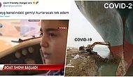 Süveyş Kanalı'nın Kapanmasına Neden Olan Gemi Hakkındaki Paylaşımlarıyla Herkesi Güldüren 24 Kişi