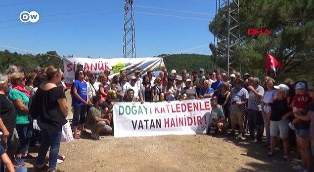 En son Temmuz 2019'da, Kanadalı Alamos Gold şirketinin Türkiye'deki iştiraki Doğu Biga Madencilik'in Kirazlı'daki altın madeni projesine karşı başlayan protestolar kitlesel bir eyleme dönüştü.