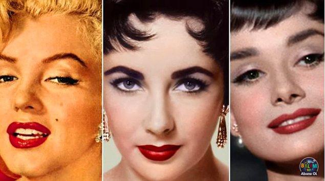 1950'li yıllarda film yıldızlarının günümüz makyajlarına yakın makyajlar yapması, filmleri izleyen halkın da makyaj yapıp film yıldızı gibi olmak istemesini ve dolayısıyla sektörün güç kazanmasını sağladı.