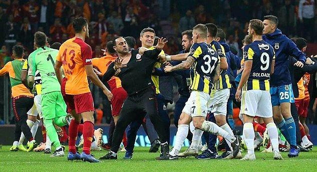 2018-19'da oynanan olaylı Fenerbahçe derbisinden sonra 7 maç ceza alan tecrübeli teknik direktöre sonraki hareketlerinden ötürü üç maç daha ceza verilmişti.