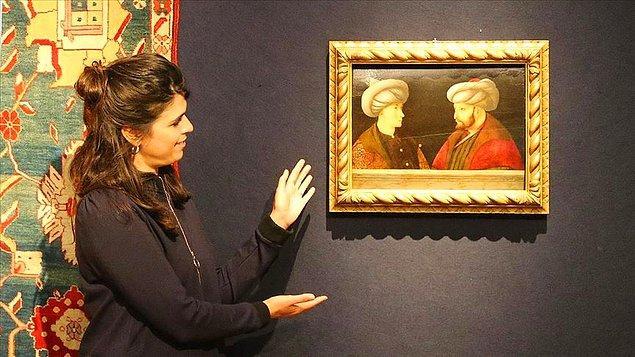 3. Fatih Sultan Mehmet'in özel koleksiyonda bulunan son portresi geçtiğimiz sene Londra'da yapılan açık artırmada İBB'ye 770 bin sterline satıldı.