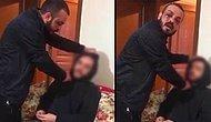 Cezaevinden Yeni Çıkmış! Sevgilisinin, Arkadaşının Boğazına Bıçak Dayayıp Video Çeken Şahıs Gözaltında