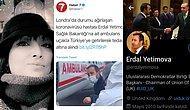 Türkiye'de Yatak Bulunamadığı İçin Bir Kadının Öldüğü Gün, Londra'dan Özel Uçakla 'Hasta' Getirildi
