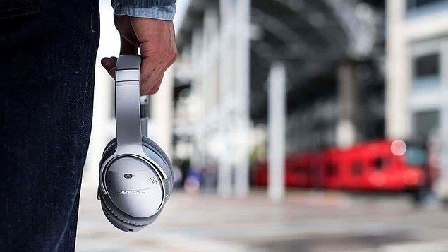 9. Bose QuietComfort kablosuz kulak üstü kulaklık