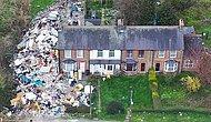 В пригороде Англии мужчина устроил в своем саду незаконную свалку, которая вышла из под контроля