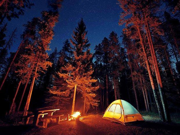 Hafta sonu kampa gitmek