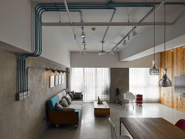 Loft daireler Amerika'da yaşanan bir konut sorunu nedeniyle ortaya çıkmışlar aslında.