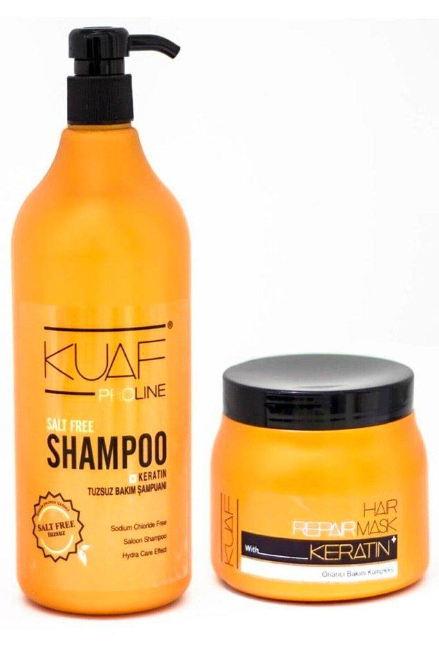 9. Bu ikiliye iyi bakın... Dökülen, sönük, cansız saçlarınız varsa bu ürünü denedikten sonra vazgeçemeyeceksiniz.