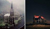 15 заброшенных мест, которые выглядят одновременно прекрасно и жутко (Новые фото)