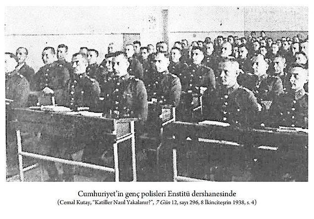 Ayrıca 1937'de amir yetiştiren Polis Enstitüsü ve 1 sene sonra da polis memuru yetiştiren Polis Koleji açılır.