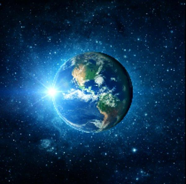 Dust on the Blue Marble