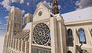 Появились цифровые изображения, которые будут использованы для возрождения собора Парижской Богоматери, который был разрушен в огне два года назад