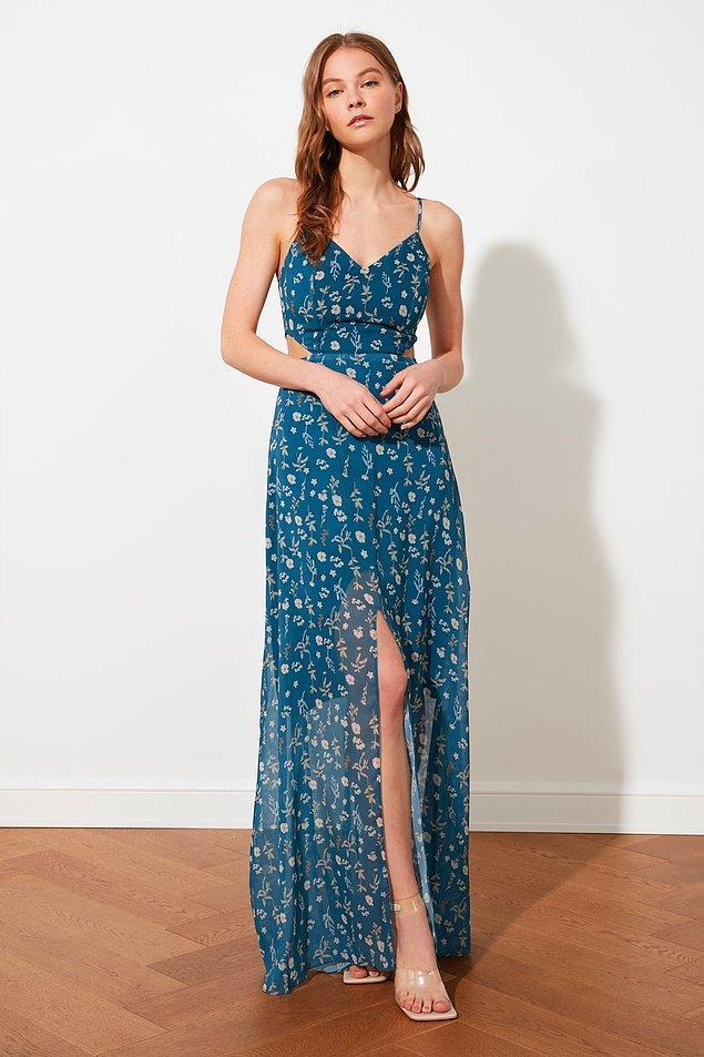 16. Bu elbiseyle düğünlerde boy göstermeye ne dersiniz?