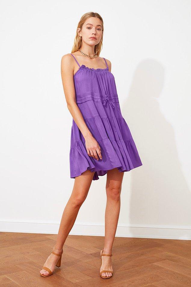 19. Tam yazlıkta giyilecek elbise.