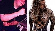 Американец, который сбросил 80 килограммов, потратил 30 000 долларов на татуировки, чтобы скрыть свои шрамы после операции по удалению обвисшей кожи