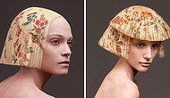 Коллекция La Favorite: Вместо того, чтобы красить волосы, парикмахер печатает на них