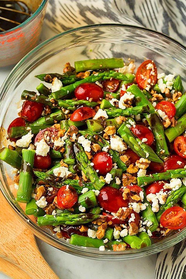 3. Kuşkonmaz Salatası Tarifi: