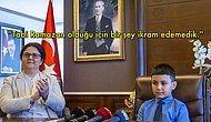 Bakan Derya Yanık'ın 23 Nisan'daki Çocuk Konuğuna Söyledikleri ve Davranışları Hepimizi Utandırdı
