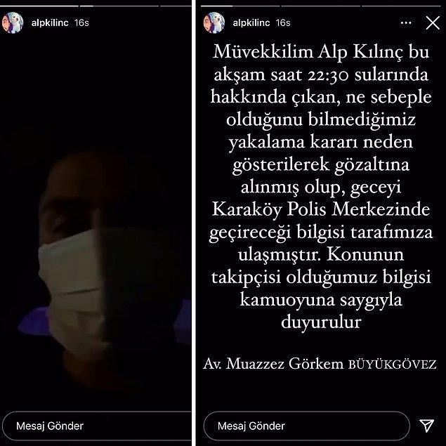 4. Hande Erçel'in kendisine 'Bazlama Surat' diyerek dava açtığı Alp Kılınç'ın bu sefer de Gülben Ergen ile davalık olduğu iddia edildi.