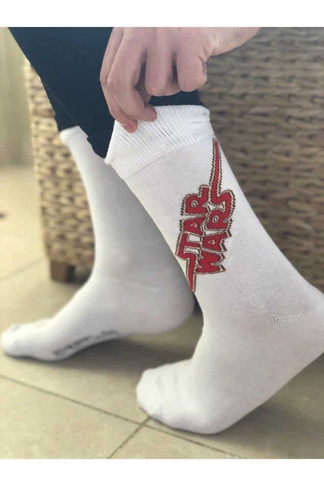 15. Pijama trendleriyle birlikte çoraplar da şenlendi.
