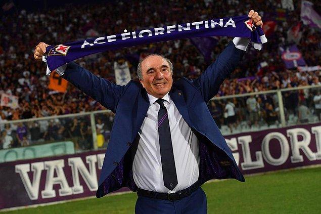11. İtalyan asıllı ABD'li iş adamı Rocco Commisso 2019'da Fiorentina'yı 160 milyon euro karşılığında satın aldı ve başkanı oldu.