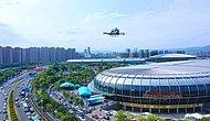 В Китае беспилотное дрон-такси впервые вылетело с двумя пассажирами