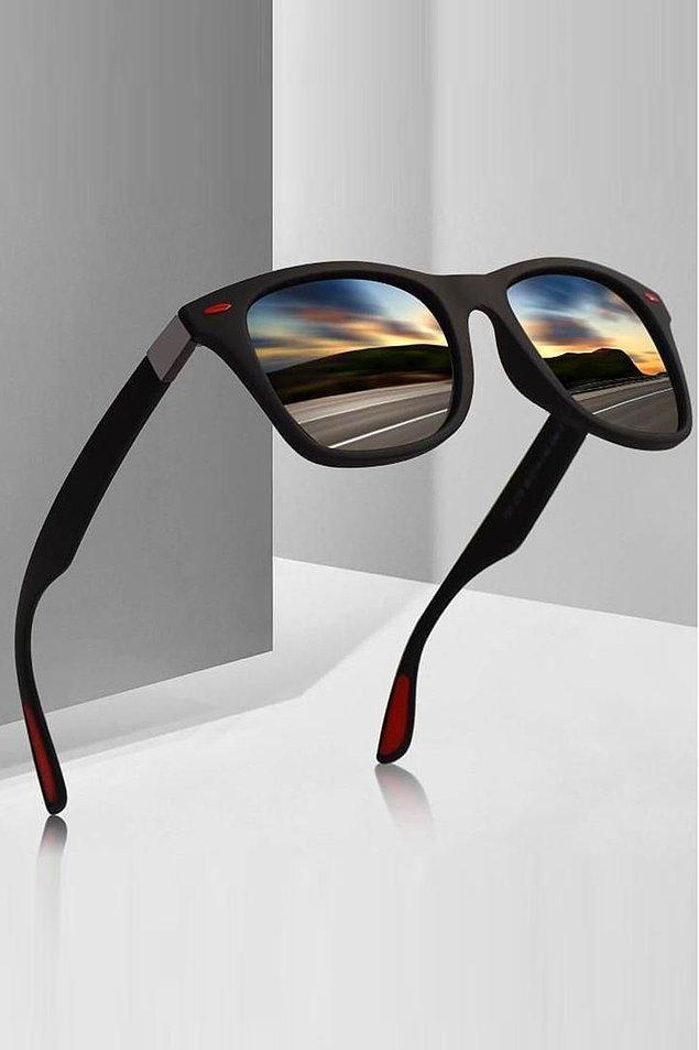 4. Bir başka klasik güneş gözlüğü modeli...