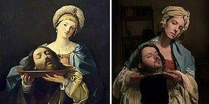 Люди, которые скучали в самоизоляции, воссоздали известные картины, и вот 30 лучших из них (Новые фото)