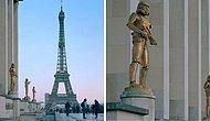 Если бы знаменитые памятники Парижа превратились в персонажей поп-культуры (12 фото)